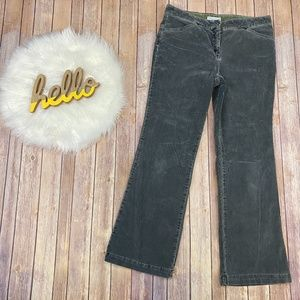"""Tommy Hilfiger Corduroy Jeans Gray Boot Cut 31"""""""